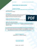 1 - Introducción a La Ley de La Educación No 070 Avelino Siñani- Elizardo Pérez