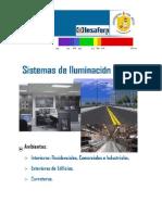 Catalogo SISTEMAS de ILUMINACION Sin Generalidades