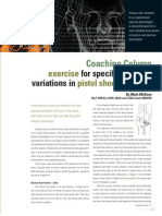 Exercise for Specific Postural Variations in Pistol Shooting Part 2