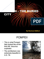 Pompeii – the Buried City