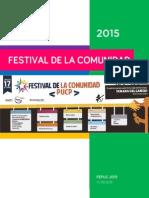 Festival de la Comunidad PUCP 2015 | Bases Generales