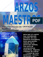 Presentación Cuarzos Maestros