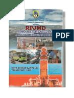 Rpjmd Pemkot Bandar Lampung 2010-2015