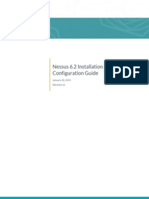Nessus 6 2 Installation Guide | Firewall (Computing) | I Pv6
