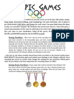 decimals enrichment olympic games