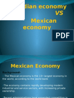 Ppt for Indian Economy vs Mexican Economy (2)