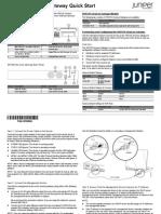 Srx220 Quick Start Guide