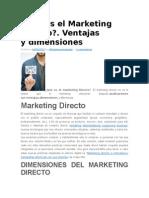 Qué Es El Marketing Directo