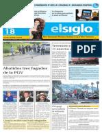 Edición Impresa El Siglo 18-09-2015