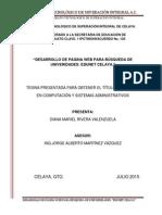 Creación de Una Página Web con PHP (Tesis)