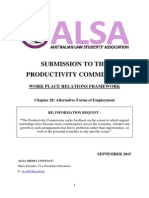 ALSA Submission to Productivity Commission