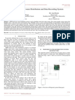 ARM Based Easy Water Distribution and Data Recording System