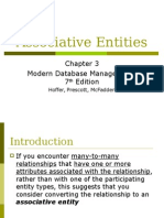 Associative Entities