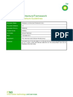 Reference Architecture Framework