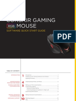 Corsair Gaming RGB Mouse Software Quick Start Guide