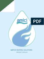 Amici Water Heater Catalog 2015
