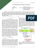 Implementation of OFDM System for Image Transmission