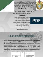ELECTROEROCION