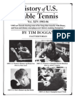 History of U.S. Table Tennis - Vol. XIV
