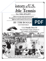 History of U.S. Table Tennis - Vol. VIII