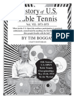 History of U.S. Table Tennis - Vol. VII