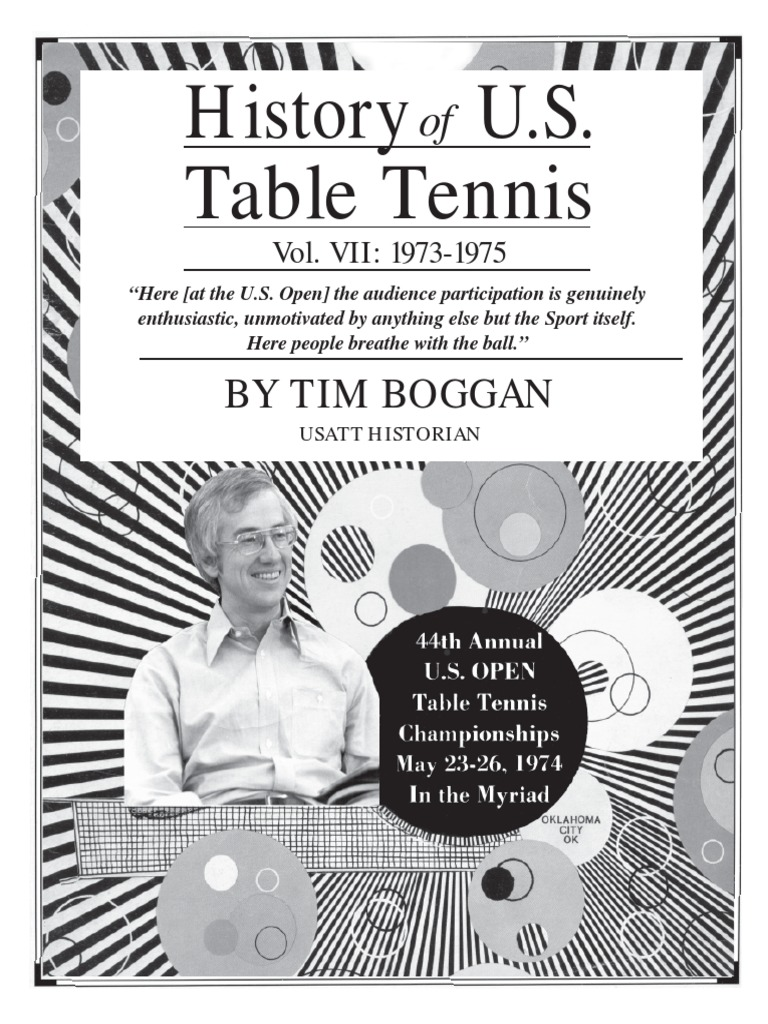 History of U.S. Table Tennis - Vol. VII: 1973-1975 | Table Tennis | Sports