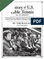 History of U.S. Table Tennis - Vol. VI