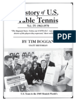 History of U.S. Table Tennis - Vol. IV