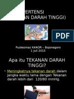 Hipertensi - kanor