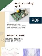FM Transmitter Using Raspberry Pi