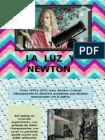 LA  LUZ  Y NEWTON