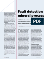 Fault Detection for Mining and Mineral Processing