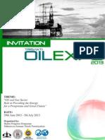 Trisakti Oil Expo 2013 Invitation