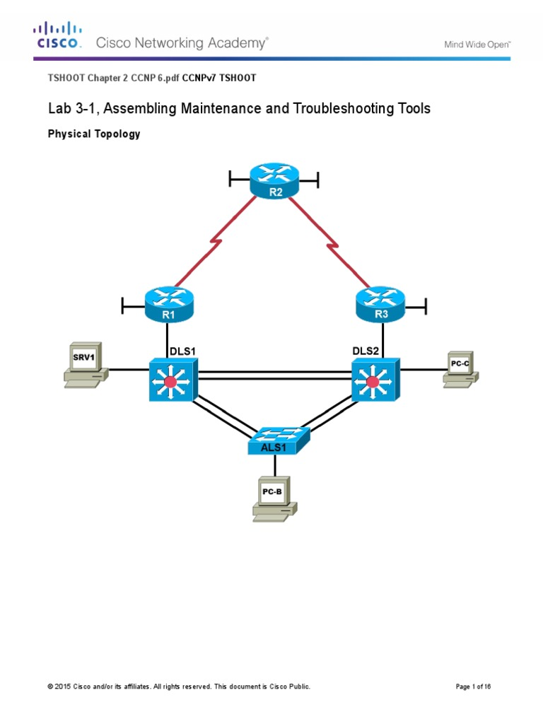 Tshoot Chapter 2 Ccnp 6.PDF | I Pv6 | Network Switch