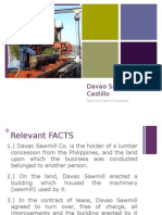 Davao Sawmill v Castillo
