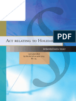 Act Relating to Holidays (Norway)