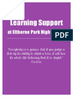 learning support provision