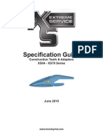 (Hensley Product)XS Construction Spec Sheet - June 2010
