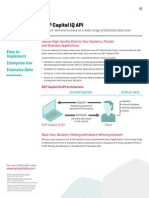 s&p Capital Iq API - Marketing - External