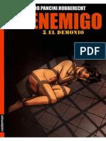 EL ENEMIGO Tomo 3 - El Demonio (Robberecht-Pagliard-Pancini) x Teofobicus