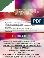 CLASE GLOBULOS ROJJOS, VES Y FSP 2015 (1).ppt