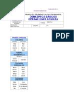 Evaluación Conceptos Básicos y Operaciones Lógicas