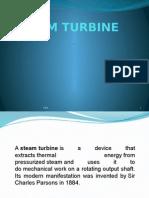 Steam Turbine for Diplamo