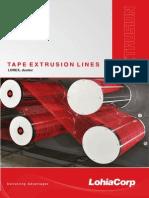 Lohia Tape Extrusion Line