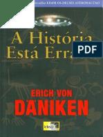 A Historia Esta Errada - Erich Von Daniken
