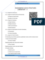 Cs6311 Pds Lab Manual