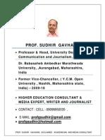 Sudhir Gavhane Bullet Bio Final