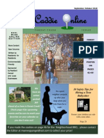 September October 2015 Edition of the Caddie Online