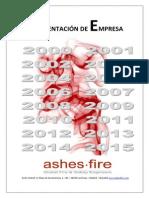 Ashes Fire Dossier General Servicios 2015 SR