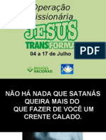 APRESENTAÇÃO-TRANSRONDÔNIA 2010